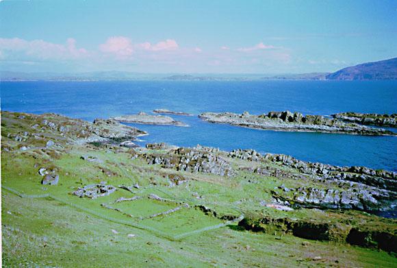 Summit of Eileach an Naoimh the Garvellachs