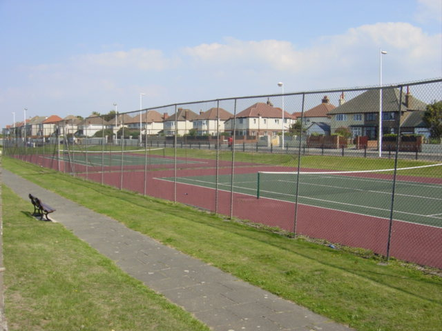 Tennis Courts, Meols Parade