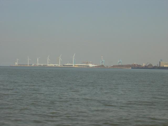 Royal Seaforth Dock wind turbines