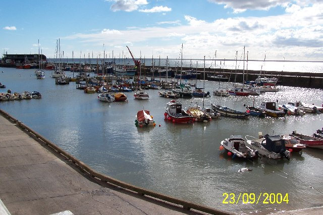Part of Bridlington Harbour