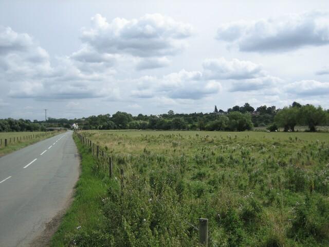 The Fladbury-Cropthorne Road