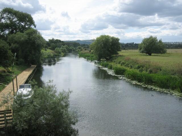 River Avon at Jubilee Bridge, Fladbury