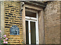 SE1032 : Bronte birthplace commemorative plaque by David Spencer