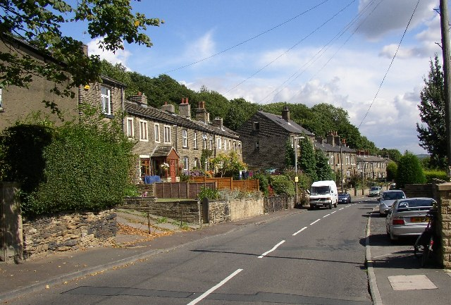 Halifax Old Road terrace houses, Birkby