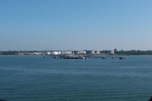 Shell Oil Storage jetty, Hamble