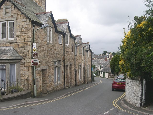 Station Road, Bere Alston