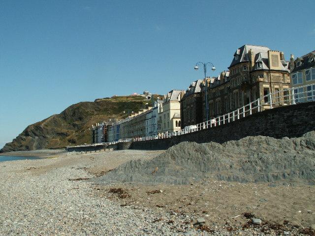 North end of promenade, Aberystwyth