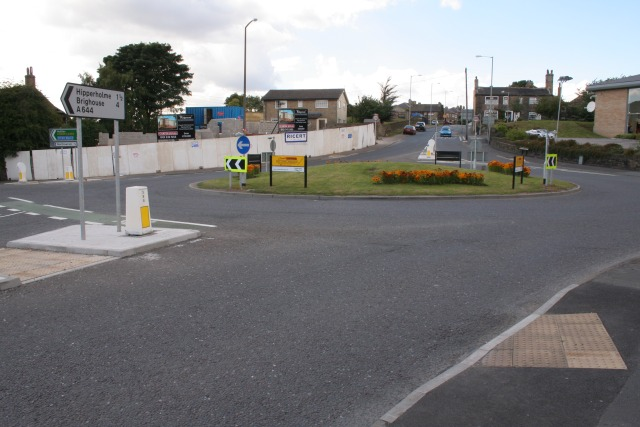 Stone Chair roundabout