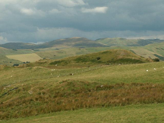 Pen-dinas hillfort, Mynydd Gorddu