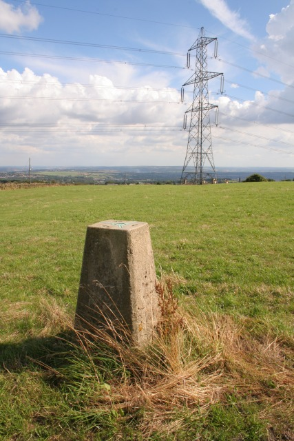 Trig point, Cock Hill
