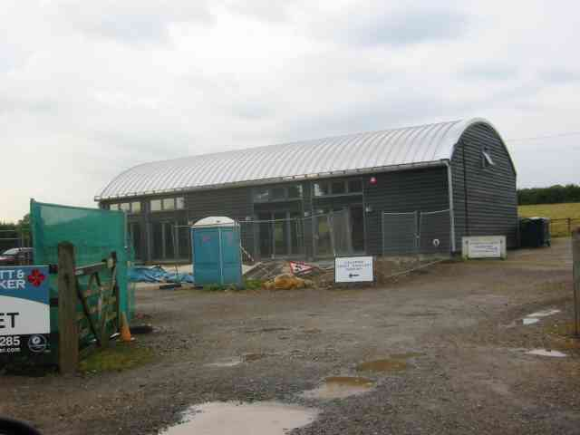 New Dutch Barn workshops Fairfolds Farm