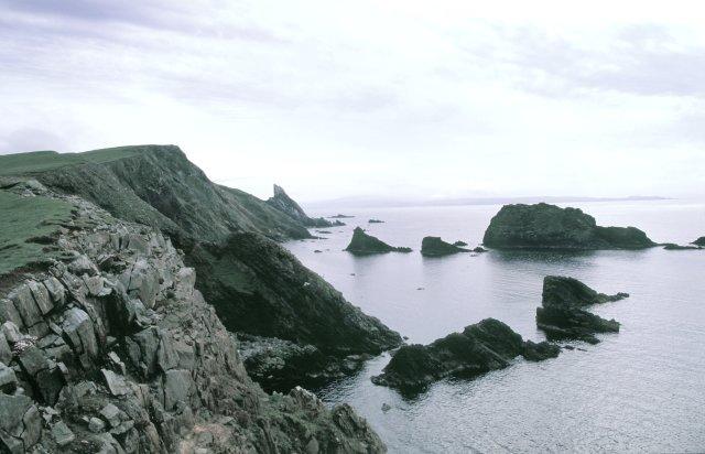 Coastline view towards Ern Stack