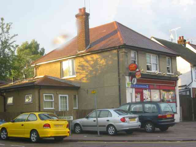 Post Office and shop in Sandridge Road.