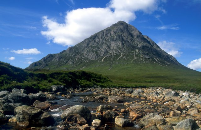 Buachaille Etive Mor from near Glen Etive
