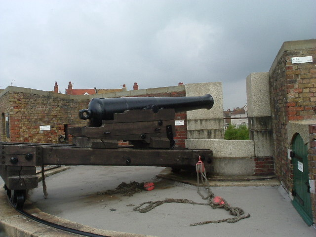 Cannon on The Redoubt