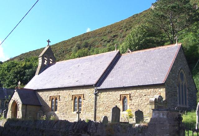 St Crannogs Church, Llangrannog