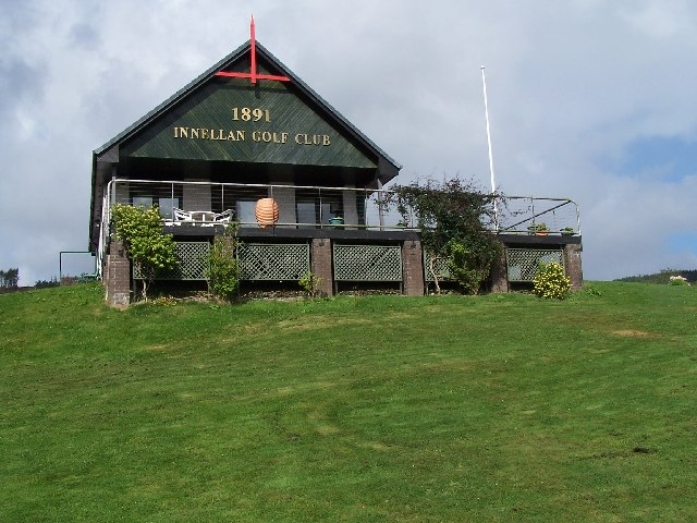Innellan golf clubhouse