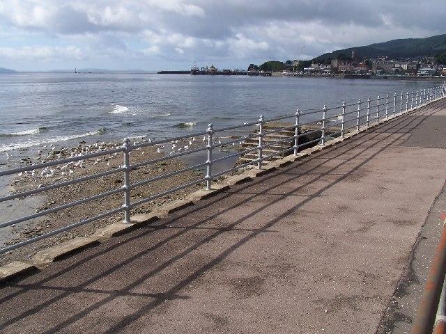 East Bay esplanade