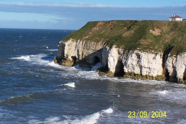 Cliffs At Thornwick Bay, Flamborough