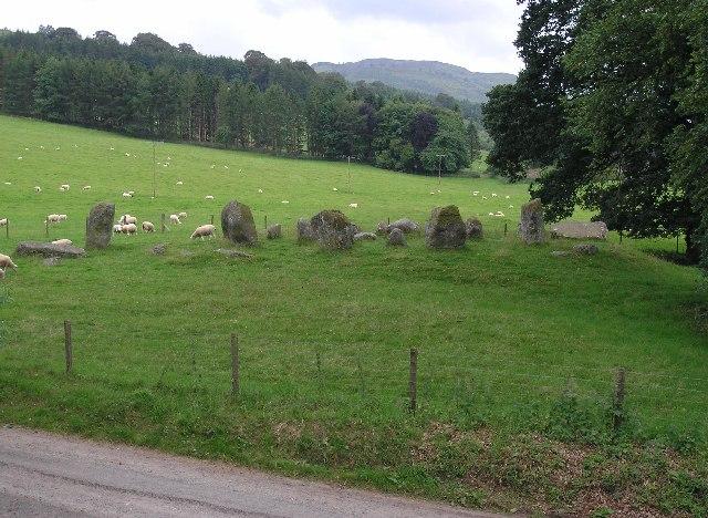 Stone circle, Croftmoraig