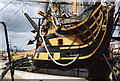SU6200 : Portsmouth: HMS Victory by Martin Bodman