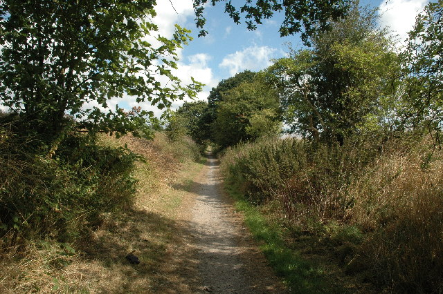 Footpath to Sankey Valley Park