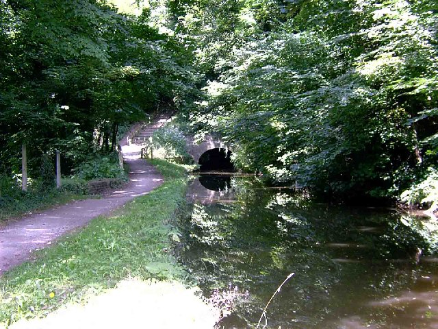 Tunnel on the Peak Forest Canal