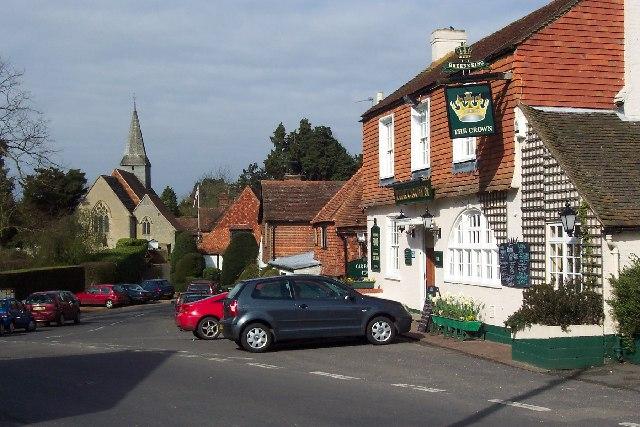 Alfold village centre