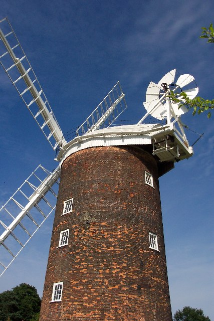 Old Buckenham windmill