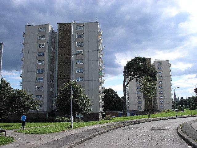 Lydstep flats, Gabalfa, Cardiff