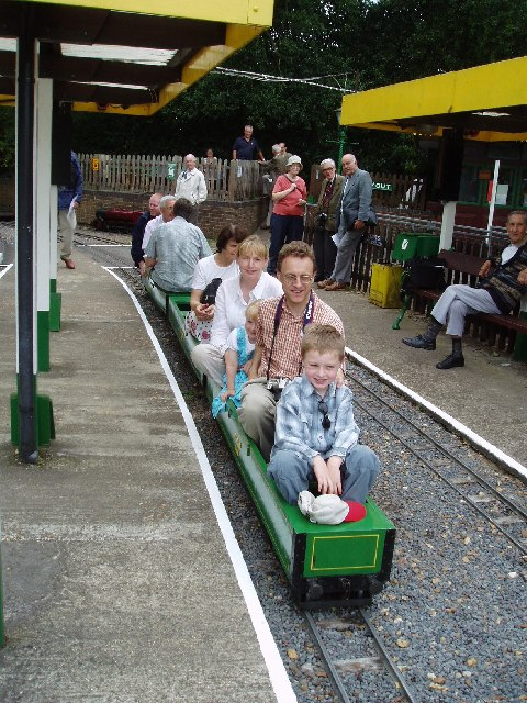 Great Cockcrow (miniature) Railway, Egham, Surrey