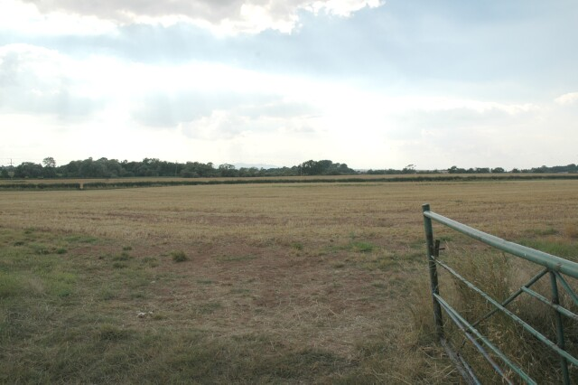 Farmland near Stakumford Bridge