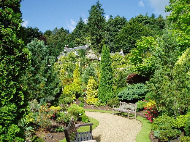 Colzium Estate Walled Garden.