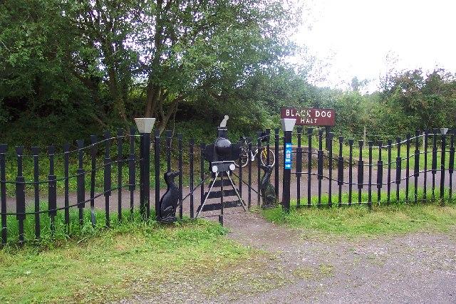 Black Dog Halt, near Calne, Wilts