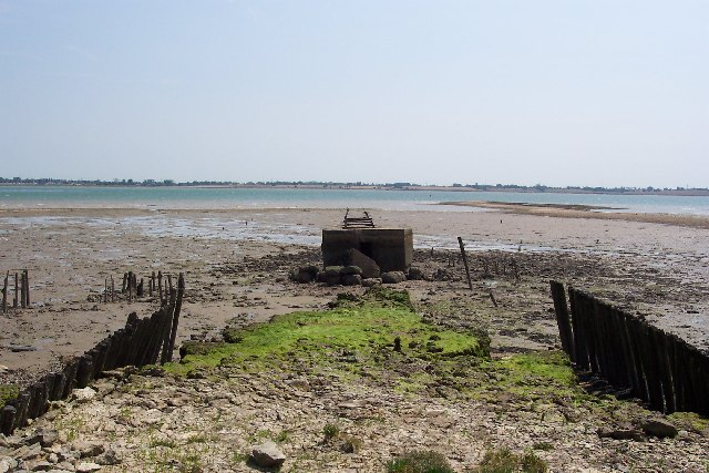 The remains of Tollesbury Pier