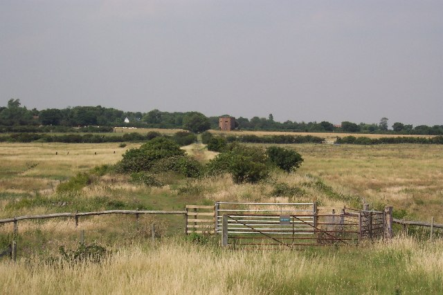 The site of Tollesbury Pier railway station