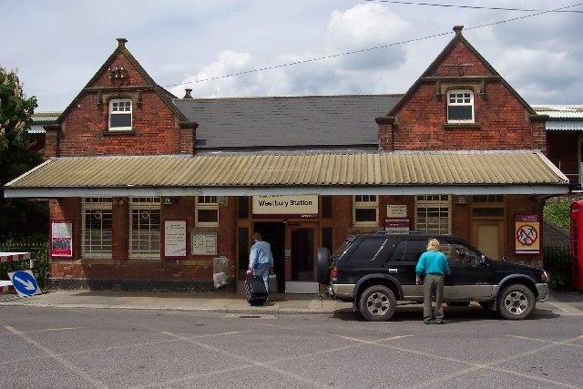 The railway station, Westbury, Wilts