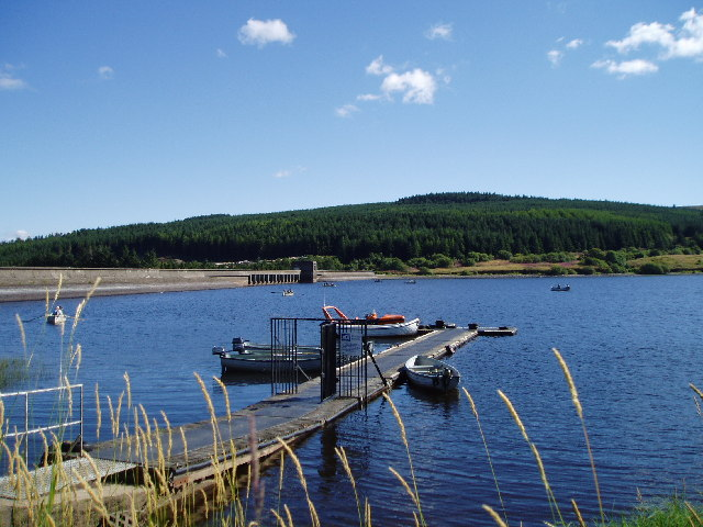 Carron Valley Reservoir Dam