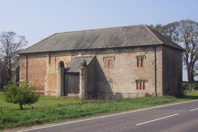 Stone barn at Bexwell, near Downham Market, Norfolk