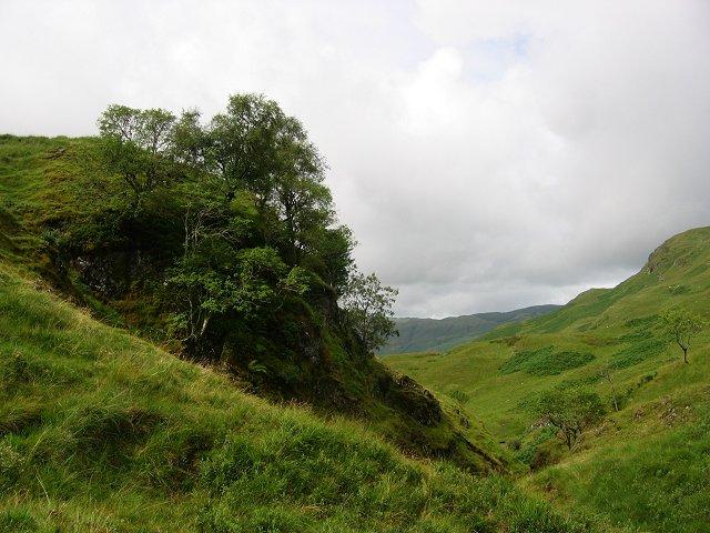 Above Coire Geodha