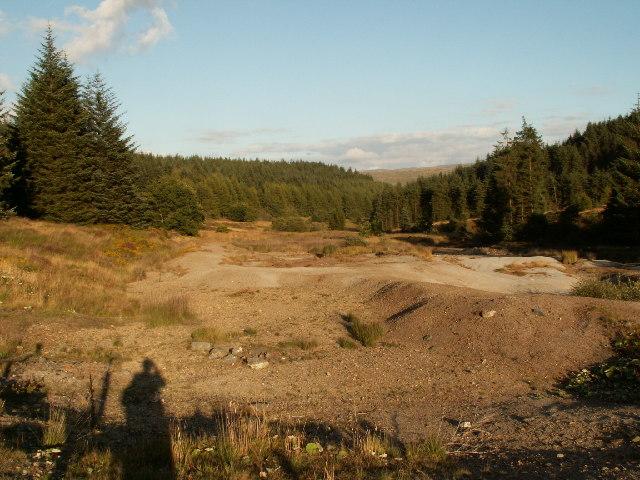 Esgair Fraith Mine