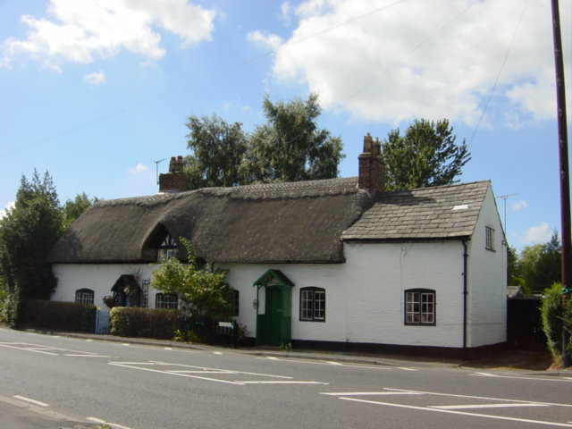 Thatched cottage, Hale Village