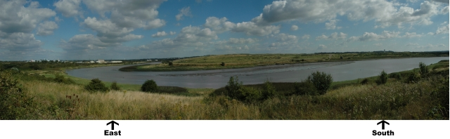 River Mersey panorama
