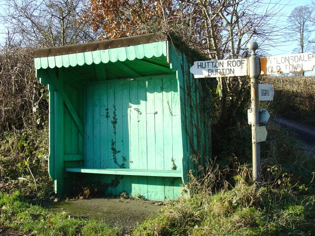 Bus Shelter, near Kirkby Lonsdale