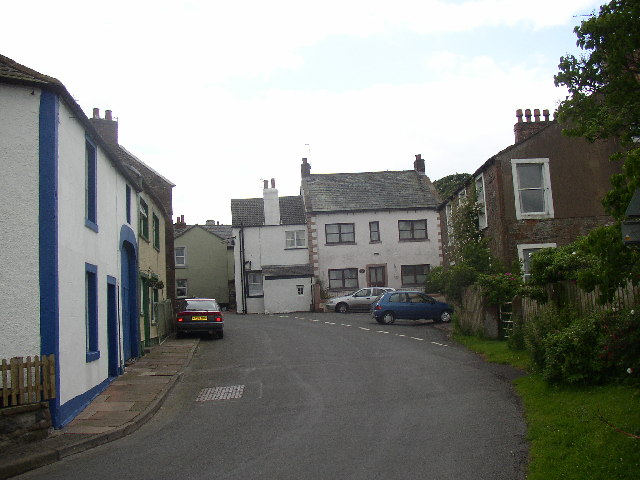 Bowness on Solway main street