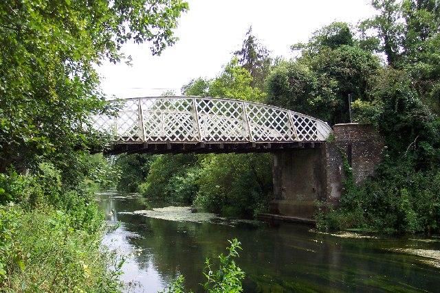 The bridge at Santon Downham, nr Thetford, Norfolk