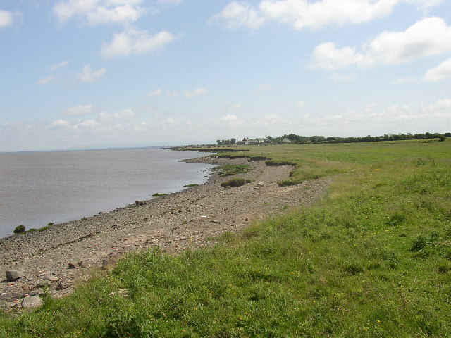 The shore west of Port Carlisle