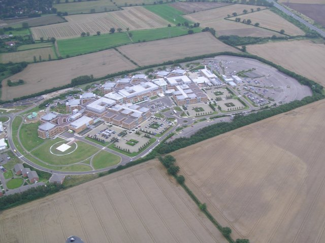 Norfolk & Norwich University Hospital (aerial)