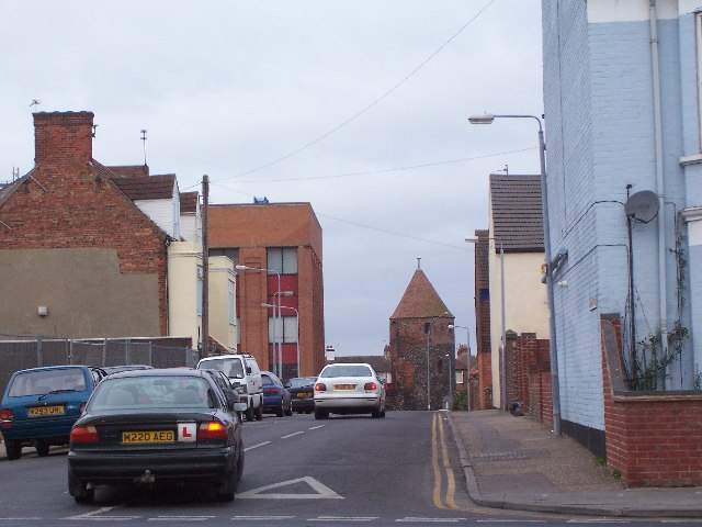 North West Tower and Rampart Rd Gt Yarmouth