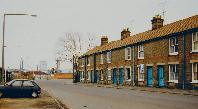 Terraced Houses in Riverside Road, Lowestoft